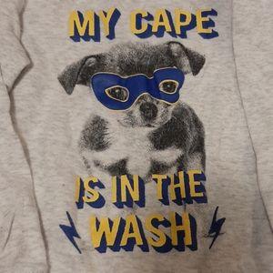 4/$20 George Super Hero Puppy Pajamas